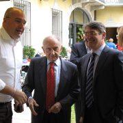 Il Presidente Renzo Catellani con il Sindaco di Brescia